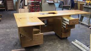 Sewing Cabinet Woodworking Plans by 109 Building A Sewing Cabinet With Lift Part 2 Of 2 Youtube