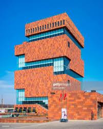 100 Where Is Antwerp Located Mas Museum Flanders Belgium Europe Stock Photo Getty Images
