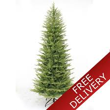 45 Puleo 65ft Slim Kensington Artificial Christmas Tree