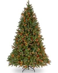 National Tree Company 75 Ft Douglas Fir Multicolor Pre Lit Artificial Christmas