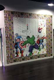 Superhero Comic Wall Decor by Marvel Comics Wallpaper Border Superhero Comic Graham Brown