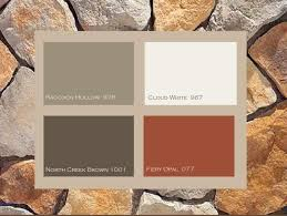 beautiful ranch house colors with two awesome house color schemes