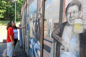 Big Ang Mural Petition by Brewers U0027 Outlet Mural Moved To Park In Pottsville News