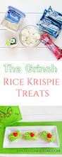 Rice Krispie Christmas Trees Recipe by The Grinch Rice Krispie Treats Frazzled N Frugal