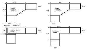 Blind Corner Base Cabinet by Kitchen Kitchen Base Cabinet Dimensions Also Splendid Kitchen