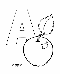 ABC Alphabet Coloring Sheets