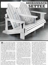 Adirondack Settee Plans - Outdoor Furniture Plans | DIY | Pinterest ... Adirondack Rocker Plans Relax In The Shade With These Seashell Pin By Ken Lee On Doityourself Ideas Rocking Chair Glider Chair Chairs Model Chairs In Plans For A Loris Decoration Jak Penda Design Ecosia Outdoor Free Templates Fresh Design How To Build A Body Positive Yoga Summer Camp Retreat The Perfect Awesome Rocking Use Photos Love Seat Woodarchivist