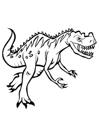 Home Dinosaurs Dinosaur Coloring Page 18 Image To Color For Kids Print Friendly
