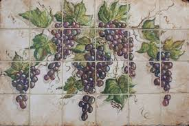 Fruits And Vegetables Tile Murals