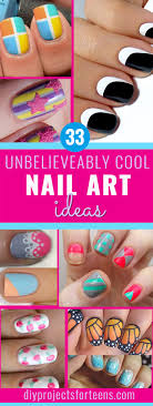 33 DIY Nail Art Ideas