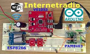 arduino webradio mit esp8266 diy basteln badezimmer wifi