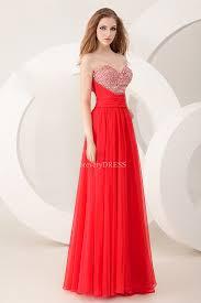 dramatic sweetheart chiffon plus size evening dress online