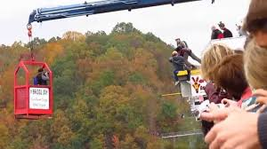 Traveling Handstands October 2014 by Bridge Day 2014 Handstand Base Jump Fail Youtube
