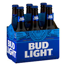 Bud Light Beer 6 pack 12 fl oz Walmart