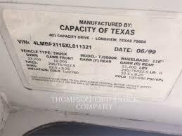 Capacity YARD JOCKEY TJ5000 - Articulated Dump Trucks (ADTs ...