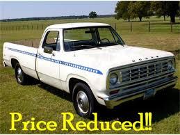 100 1975 Dodge Truck D100 For Sale ClassicCarscom CC910348