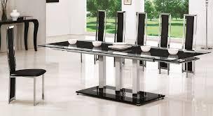 Stunning Extendable Glass Dining Table Set Australia Ikea