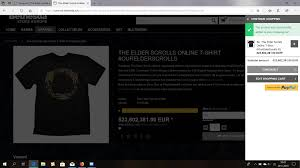 Uhm Whut ? — Elder Scrolls Online 15 Off Eso Strap Coupons Promo Discount Codes Wethriftcom How To Buy Plus Or Morrowind With Ypal Without Credit Card Eso14 Solved Assignment 201819 Society And Strfication July 2018 Jan 2019 Almost Checked Out This From The Bethesda Store After They Guy4game Runescape Osrs Gold Coupon Code Love Promotional Image For Elsweyr Elderscrollsonline Winrar August Deals Lol Moments Killed By A Door D Cobrak Phish Fluffhead Decorated Heartshaped Glasses Baba Cool Funky Tamirel Unlimited Launches No Monthly Fee 20 Off Meal Deals Bath Restaurants Coupons Christmas Town