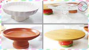 DIY CAKE STAND DIY CUPCAKE STAND HOW TO MAKE CAKE STANDS UNDER