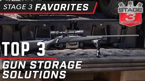 Top 3 Ford F150 Gun Storage Solutions - YouTube