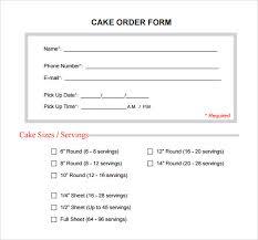 sample cake order form monpence