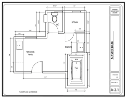 design bathroom floor plan in sketch or 3d bathroom design ideas