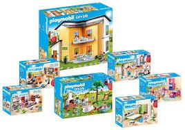 playmobil modernes wohnhaus extras