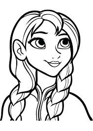 Frozen Coloring Pages For Adults Page Printable Free Kids Print A4