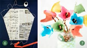 Construct A Kite Using Piece Of Newspaper It Doesnt Get Any Easier Than That Check Out These Instructions Photo Mother Goose