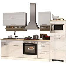 lifestyle4living küche mit elektrogeräten 270cm