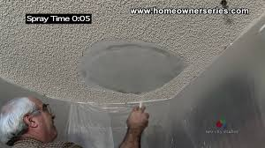 Finishing Drywall On Ceiling by How To Texture Drywall Popcorn Ceiling Drywall Repair Youtube