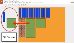 using google draw for virtual manipulatives teacher tech