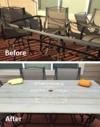 Martha Stewart Patio Table Replacement Glass by Maybe Could Replace The Broken Table Glass With Wood Hm