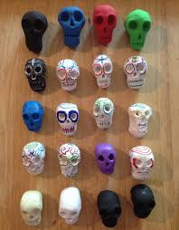 TPiB Mexican Sugar Skulls Made Out Of Clay With Links To A Few