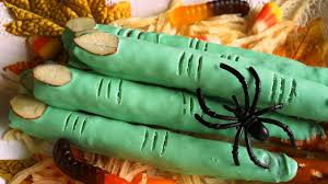 Halloween Pretzel Sticks by Chocolate Pretzel Witch Finger Youtube