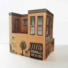 cardboard doll houses to make we need a cardboard box if the