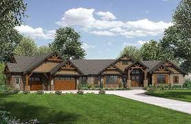 Decorative One Floor Homes by Best 25 Mountain Ranch House Plans Ideas On Country