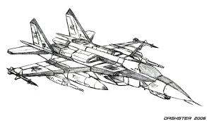 New Fighter Jet Coloring Page 87 On Free Book With