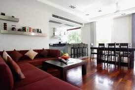 Define The Dining And Living Areas With A Functional Furniture Arrangement