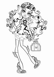 Monster High Lagoona Blue Shopping Coloring Pages