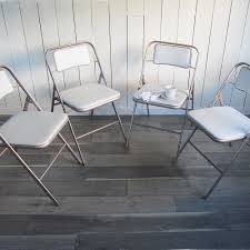 Set Of 4 Mid Century Samsonite Folding Chairs - White And ... Set Of 4 Mid Century Samsonite Folding Chairs White And Comfort Series Steel Vinyl Chair Neutral Seat Back Tubular Natural Frame Fourlegged Base John Lewis Partners Henley By Kettler Outdoor Recliner Grey 2000 Injection Mold Fanback Black Trolley 41l X 19w 77h 2200 Polypropylene Tempered Powder Coated 4000 New Stackable Plastic Catering Marquee Garden Blue Burgundy In Heathrow Ldon Gumtree Sml497541050