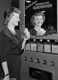 The Sandwich Dispenser Was Shown For First Time At Chicago Exhibit Ca 1950s
