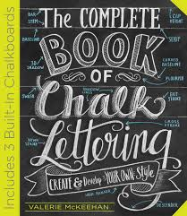 Complete Book Of Chalk Lettering - Hardcover - Walmart.com