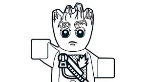 Colouring Page Picture Collection Website Lego Marvel Coloring Pages