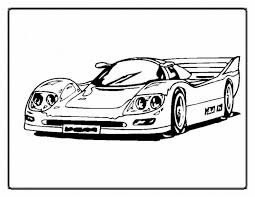Printable Race Car Coloring Pages For Kids