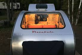100 Custom Travel Trailers For Sale Tiny Teardrop Trailer Has Huge Windows For Stargazing Curbed