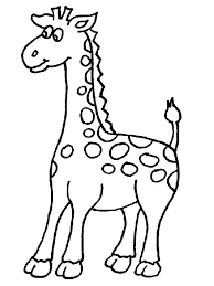 Giraffes Coloring Page 27 Pages