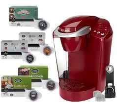 Keurig K40 Coffeemaker With 48 K Cup Packs Water Filter Kit QVC