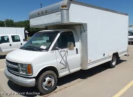 100 Box Truck Rv 2001 Chevrolet Express G3500 Box Truck Item DA7868 SOLD
