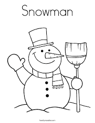 Full Size Of Coloring Pagesnowman Color Sheet Pages For Kids And Printable Page